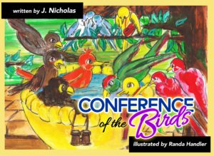 J Nicholas' Conference of the Birds a cute twist on a classic